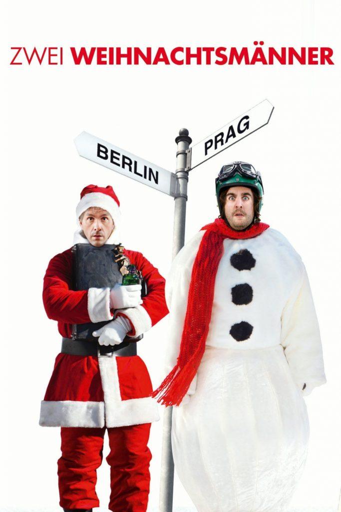 """Plakat von """"Zwei Weihnachtsmänner"""""""