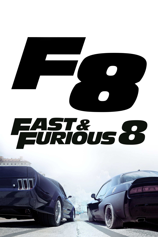 """Plakat von """"Fast & Furious 8"""""""