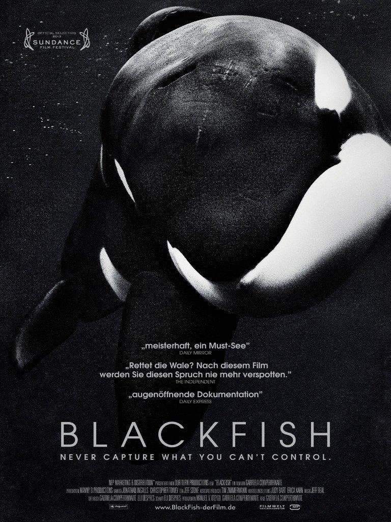 """Plakat von """"Blackfish"""""""