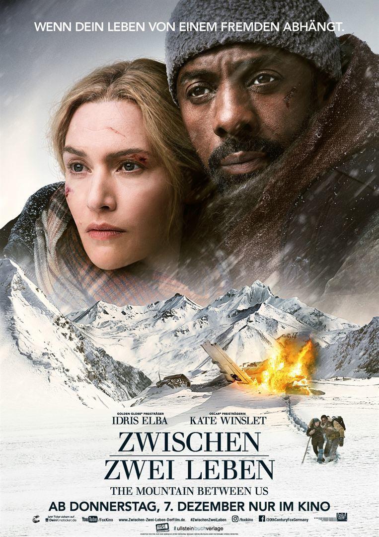 """Plakat von """"Zwischen zwei Leben - The Mountain Between Us"""""""