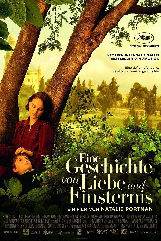 """Plakat von """"Eine Geschichte von Liebe und Finsternis"""""""