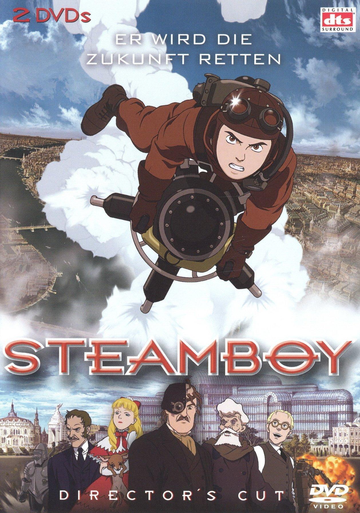 """Plakat von """"Steamboy"""""""