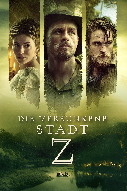 """Plakat von """"Die versunkene Stadt Z"""""""