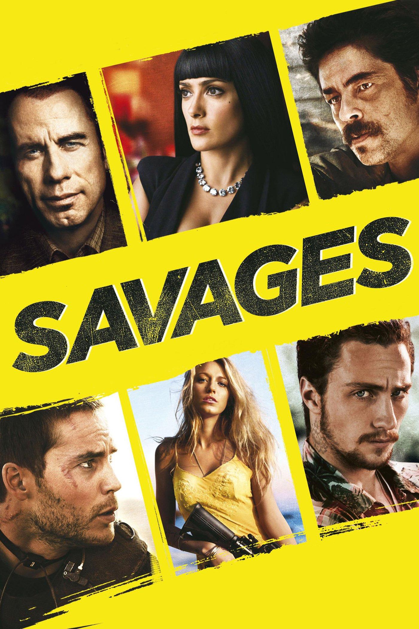 """Plakat von """"Savages"""""""