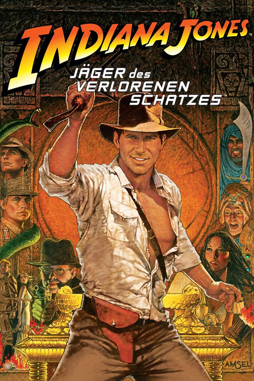 """Plakat von """"Jäger des verlorenen Schatzes"""""""