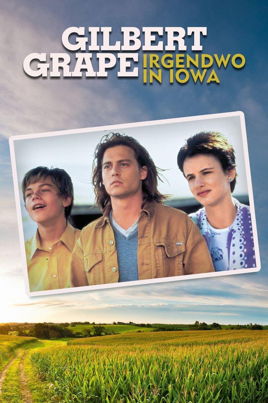 """Plakat von """"Gilbert Grape - Irgendwo in Iowa"""""""