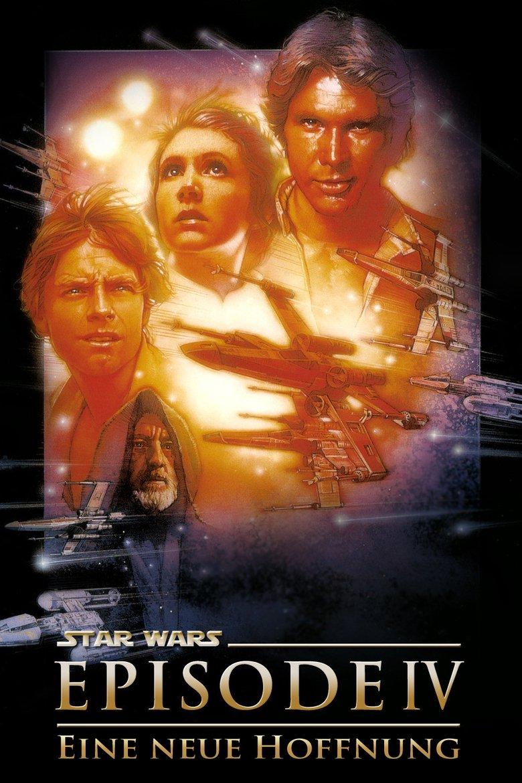 """Plakat von """"Krieg der Sterne"""""""