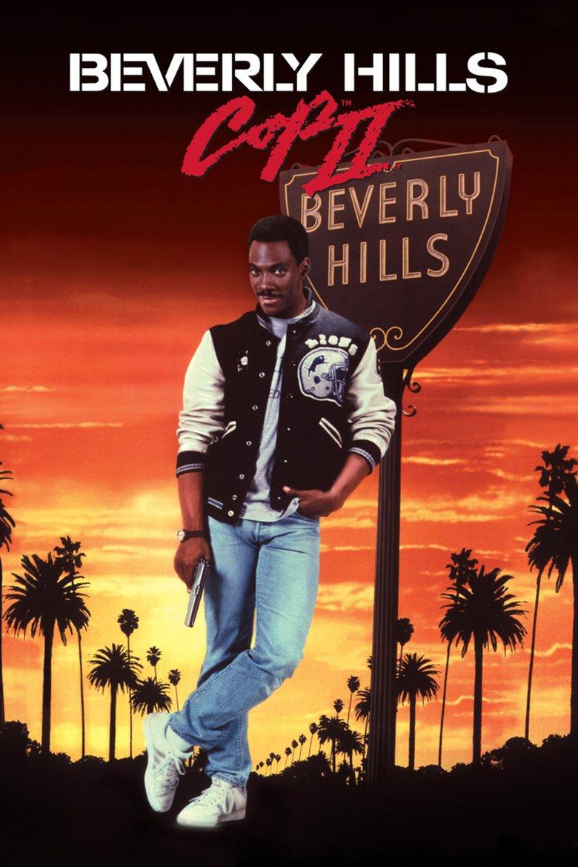"""Plakat von """"Beverly Hills Cop II"""""""