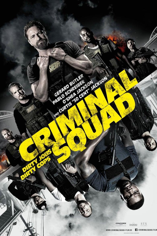 """Plakat von """"Criminal Squad"""""""