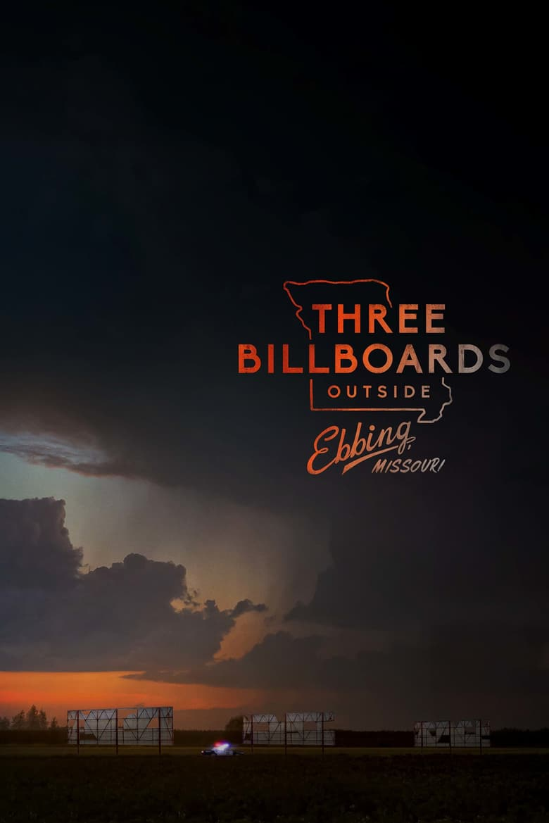 "Plakat von ""Three Billboards Outside Ebbing, Missouri"""