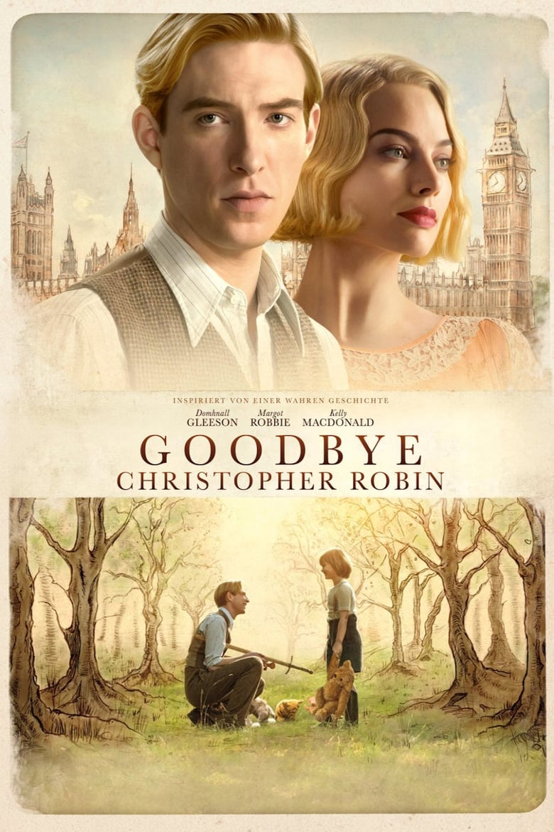 "Plakat von ""Goodbye Christopher Robin"""