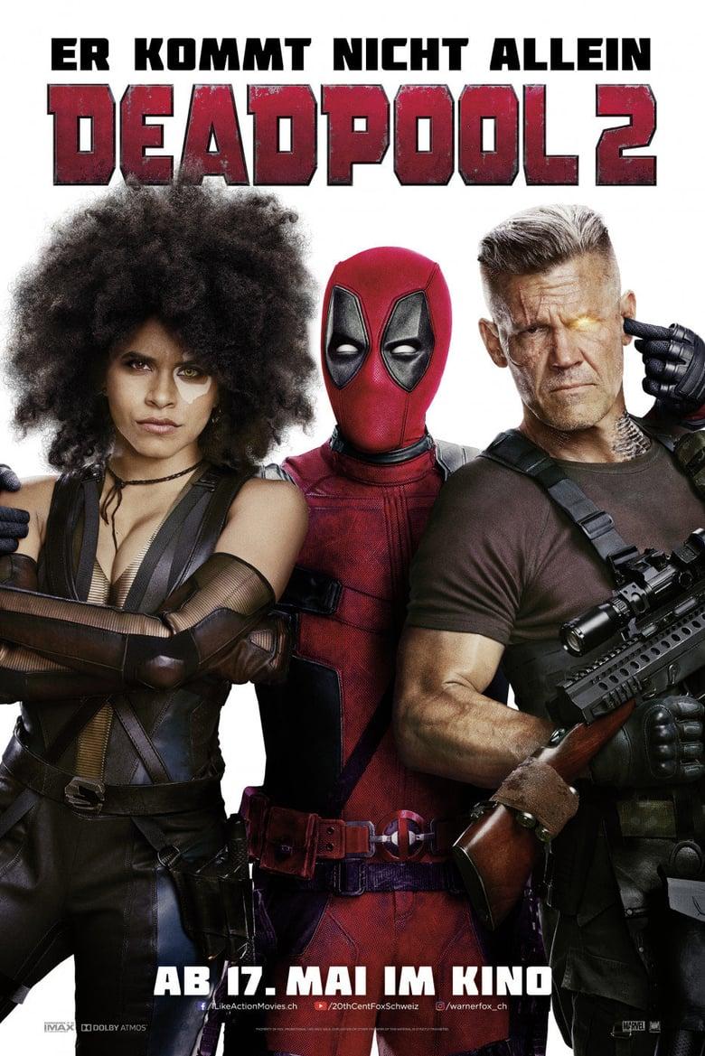 """Plakat von """"Deadpool 2"""""""