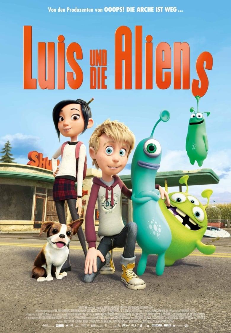 """Plakat von """"Luis und die Aliens"""""""
