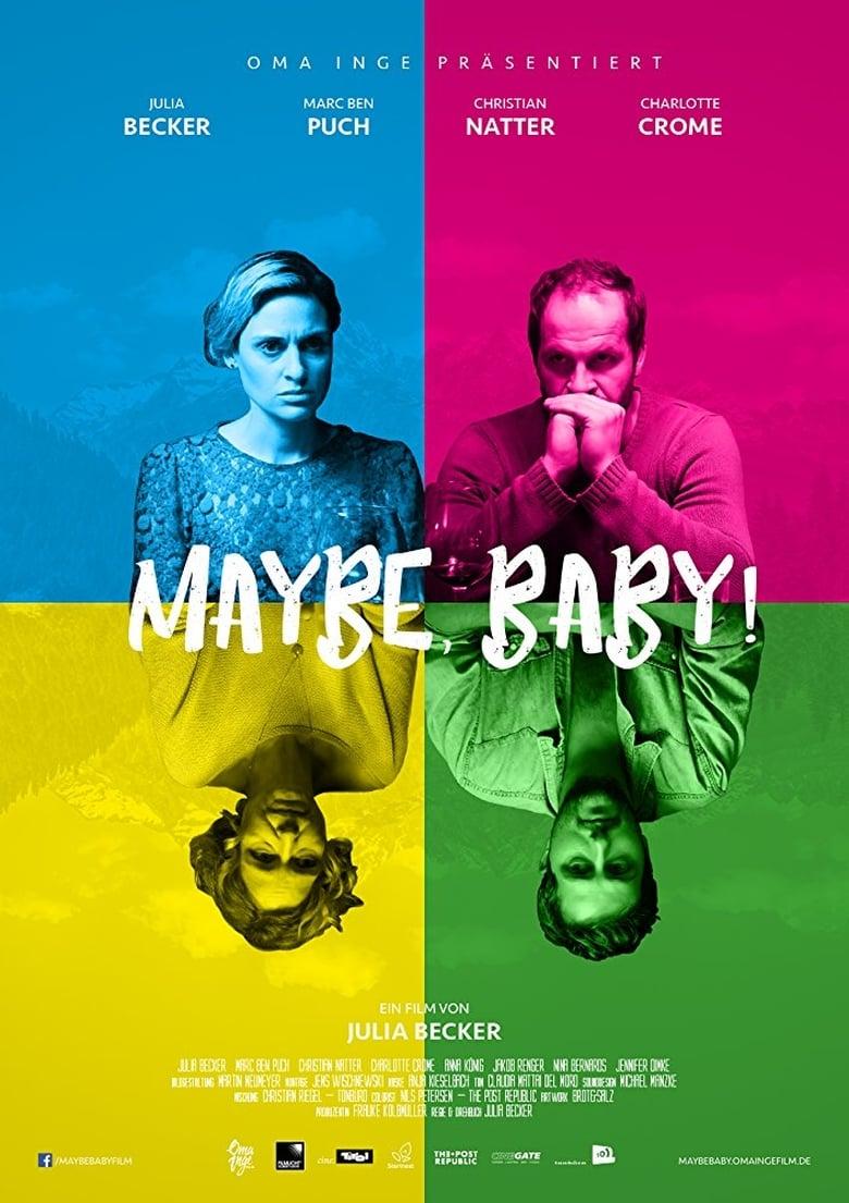 """Plakat von """"Maybe, Baby!"""""""