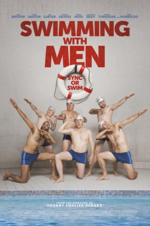 """Plakat von """"Swimming with Men - Ballett in Badehosen"""""""