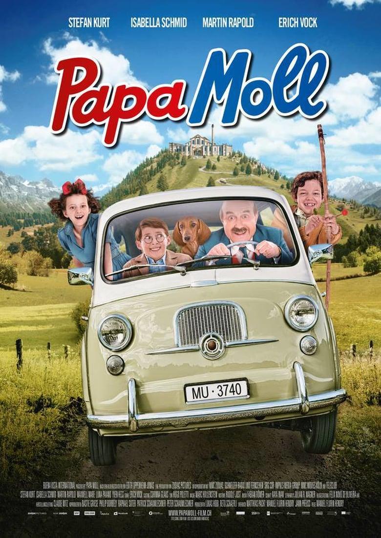 "Plakat von ""Papa Moll"""