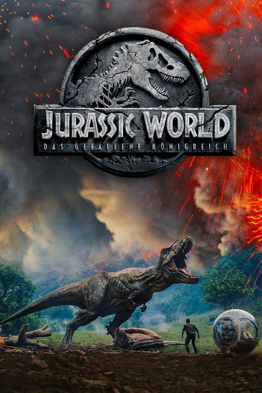 """Plakat von """"Jurassic World: Das gefallene Königreich"""""""