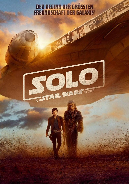 """Plakat von """"Solo: A Star Wars Story"""""""