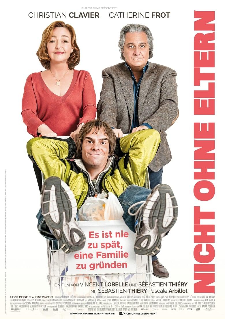 """Plakat von """"Nicht ohne Eltern"""""""