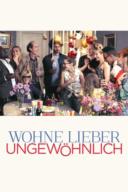 """Plakat von """"Wohne lieber ungewöhnlich"""""""