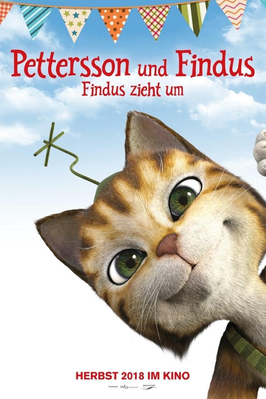 """Plakat von """"Pettersson und Findus - Findus zieht um"""""""