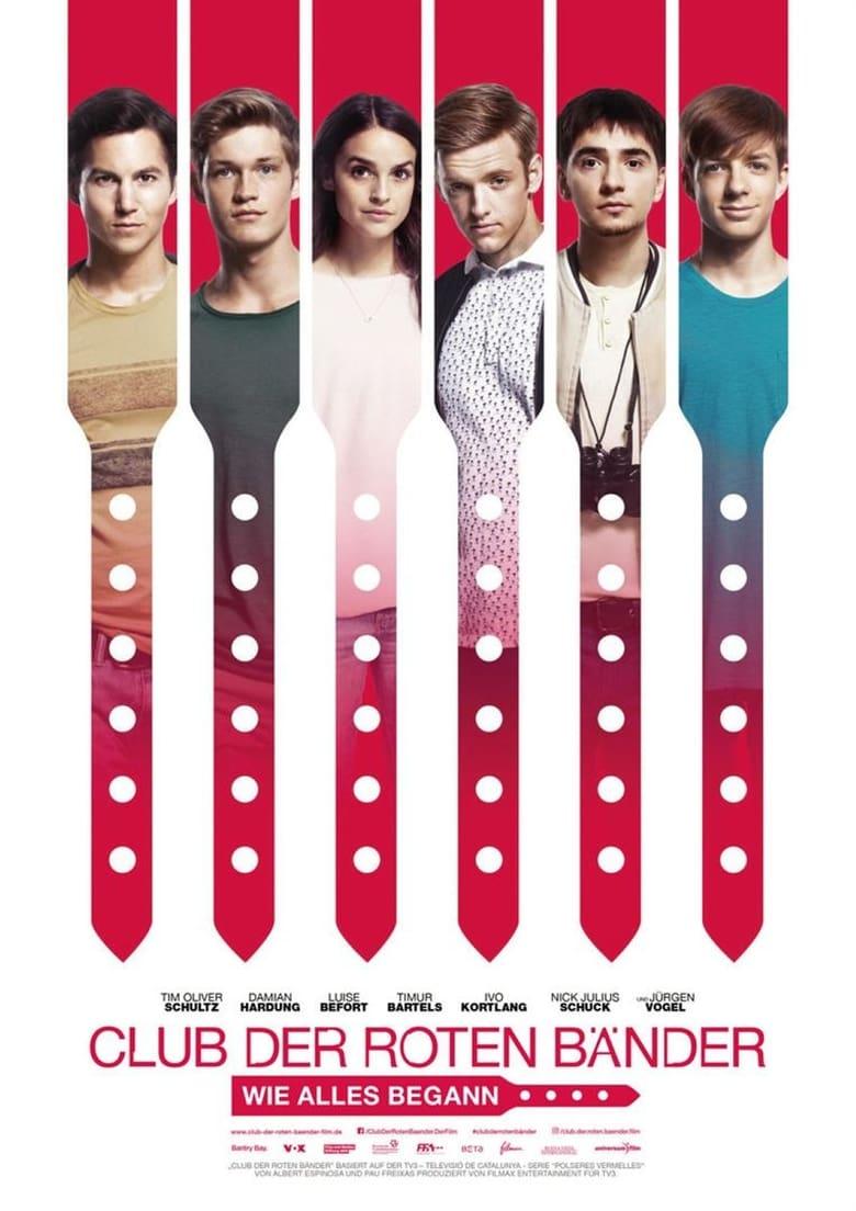 """Plakat von """"Club der roten Bänder - Wie alles begann"""""""