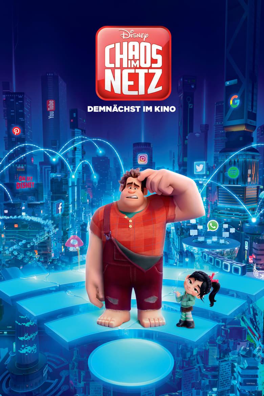 """Plakat von """"Ralph reichts 2: Webcrasher - Chaos im Netz"""""""