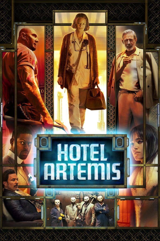 "Plakat von ""Hotel Artemis"""