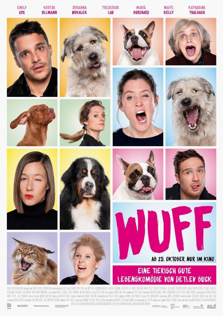 """Plakat von """"Wuff"""""""