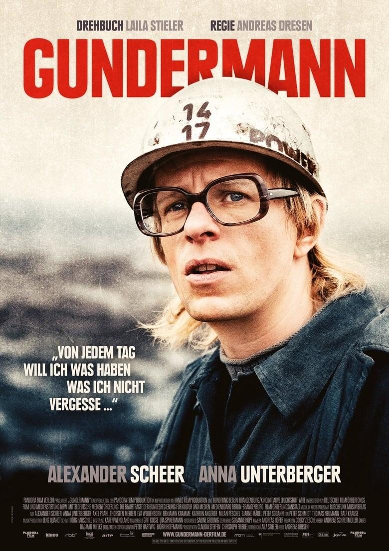 """Plakat von """"Gundermann"""""""