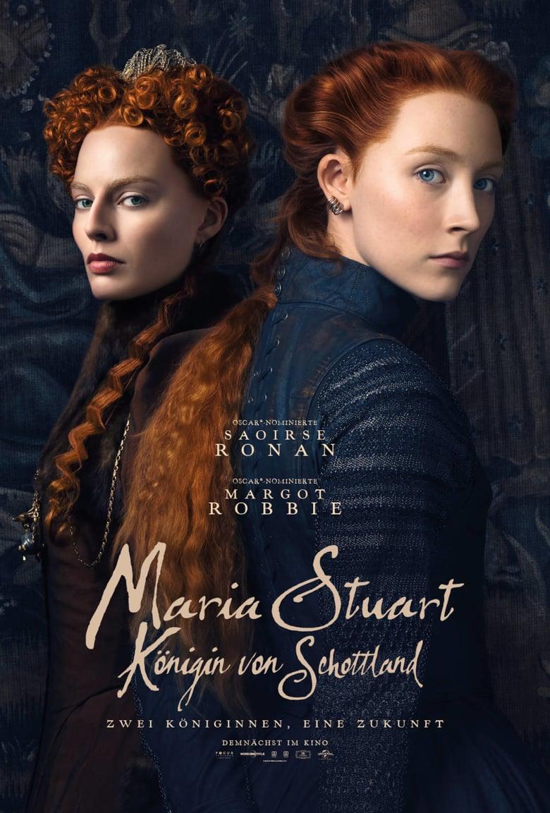 """Plakat von """"Maria Stuart, Königin von Schottland"""""""