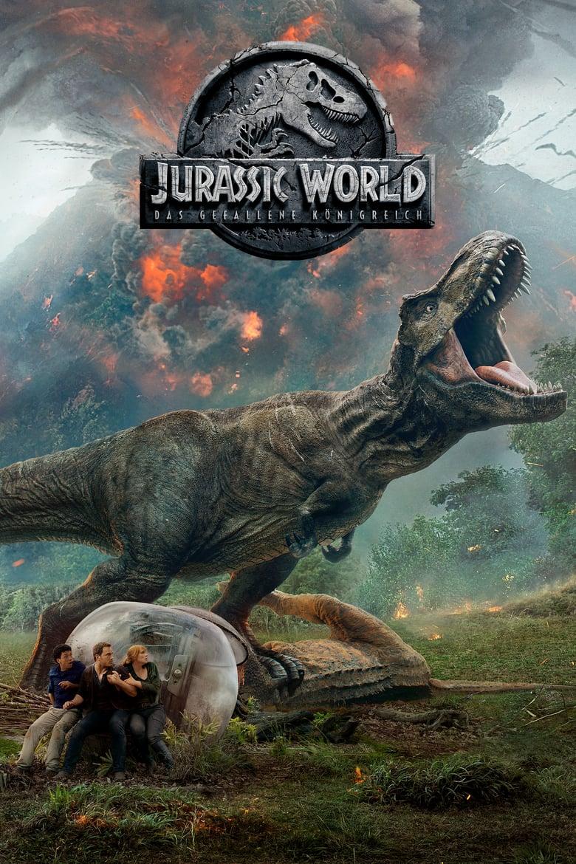 """Plakat von """"Jurassic World - Das gefallene Königreich"""""""