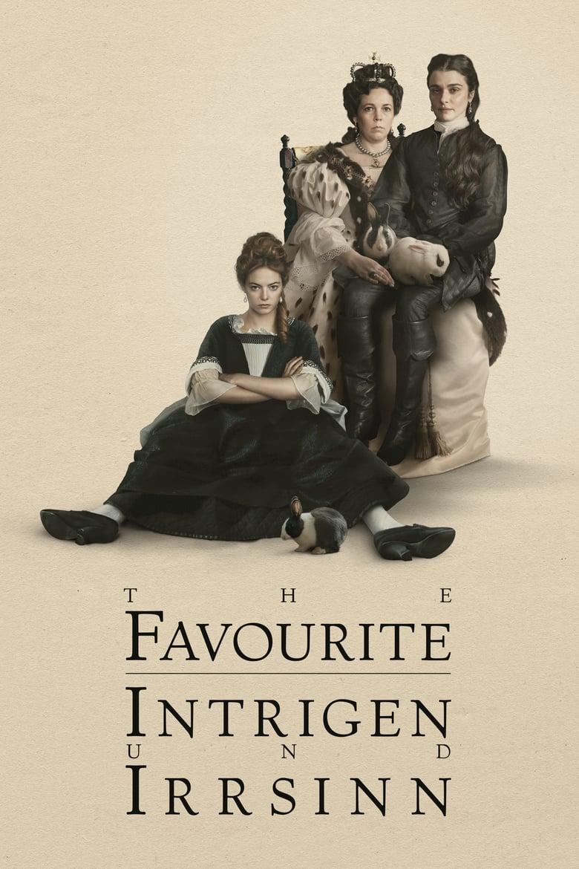 """Plakat von """"The Favourite - Intrigen und Irrsinn"""""""