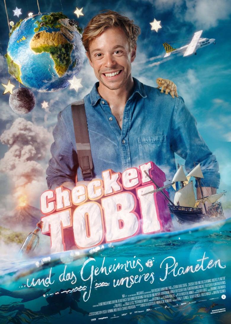 """Plakat von """"Checker Tobi und das Geheimnis unseres Planeten"""""""