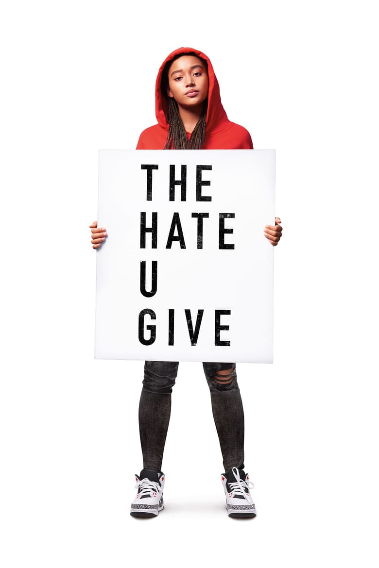 "Plakat von ""The Hate U Give"""