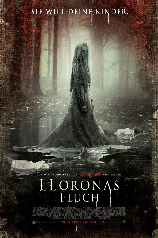 """Plakat von """"Lloronas Fluch"""""""