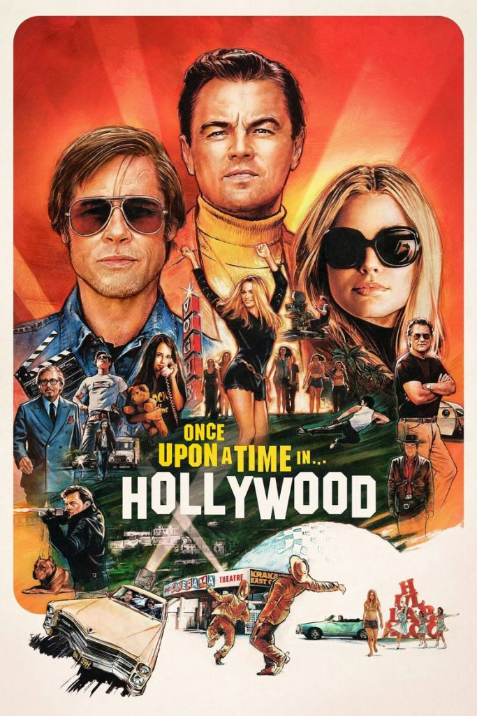 "Plakat von ""Once Upon a Time in Hollywood"""