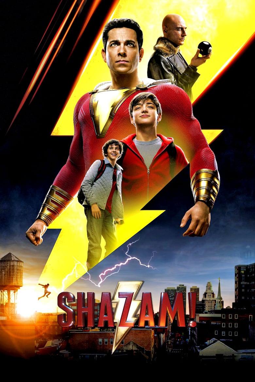 """Plakat von """"Shazam"""""""