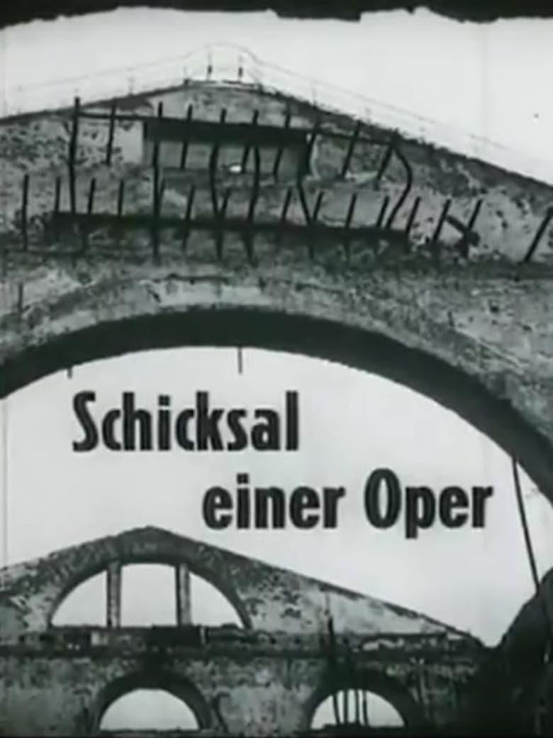 """Plakat von """"Schicksal einer Oper"""""""