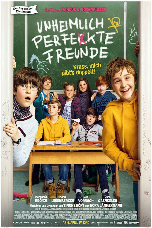 """Plakat von """"Unheimlich perfekte Freunde"""""""
