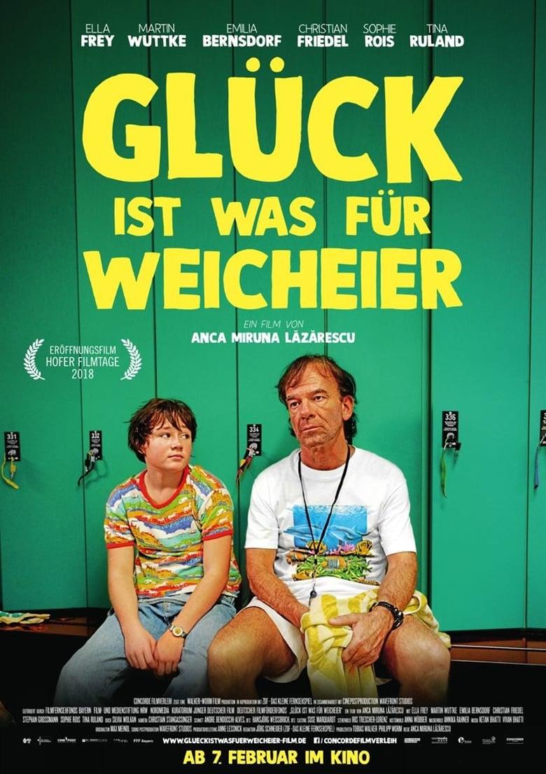 """Plakat von """"Glück ist was für Weicheier"""""""