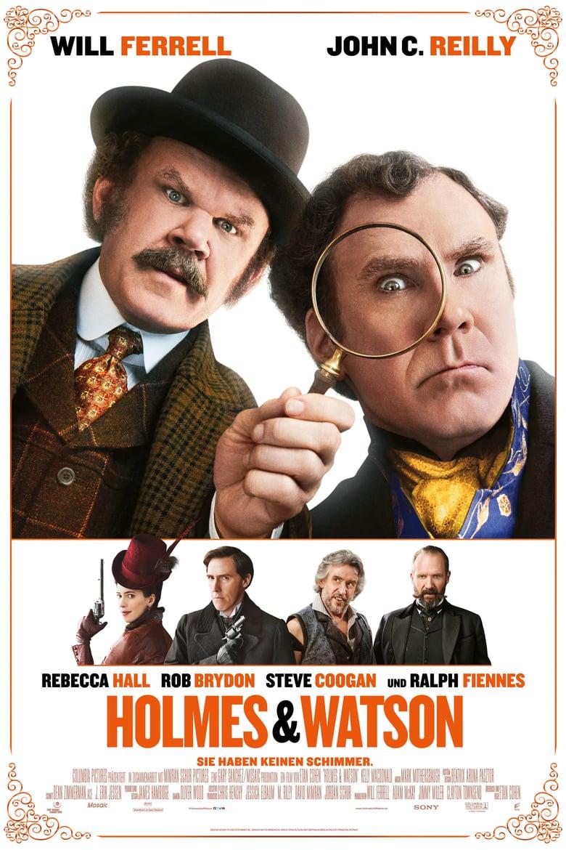 """Plakat von """"Holmes und Watson"""""""
