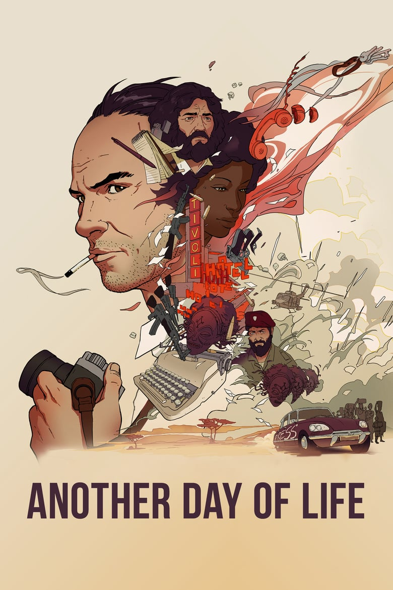 "Plakat von ""Another Day of Life"""