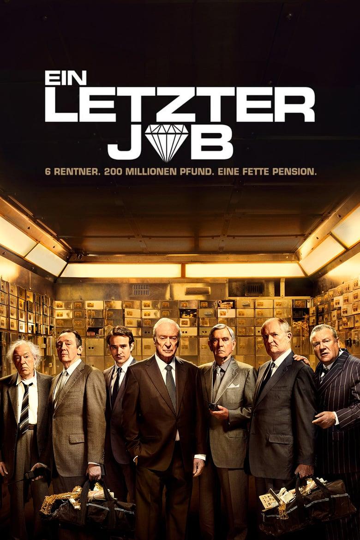"""Plakat von """"Ein letzter Job"""""""