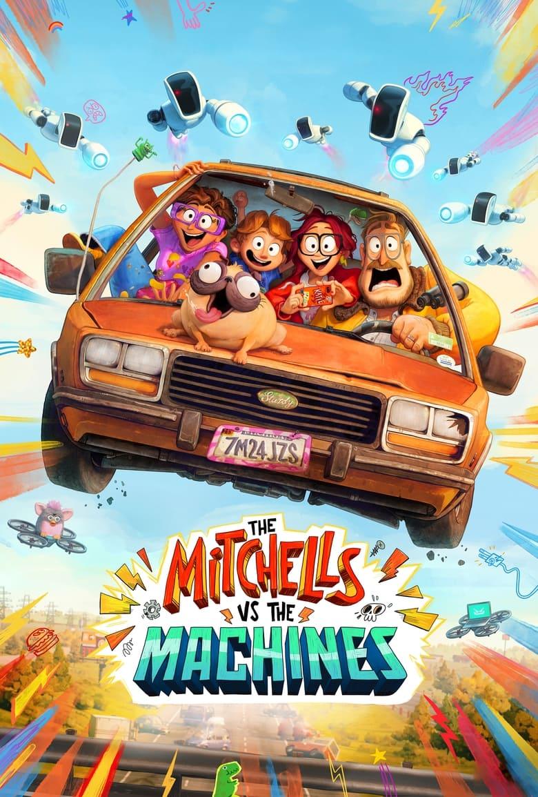 """Plakat von """"The Mitchells vs. The Machines"""""""