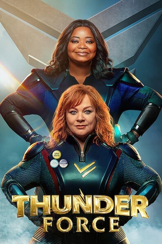 "Plakat von ""Thunder Force"""