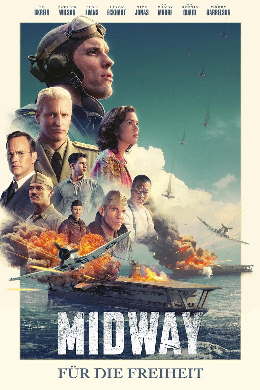 """Plakat von """"Midway - Für die Freiheit"""""""
