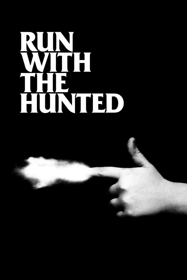 """Plakat von """"Run with the Hunted"""""""