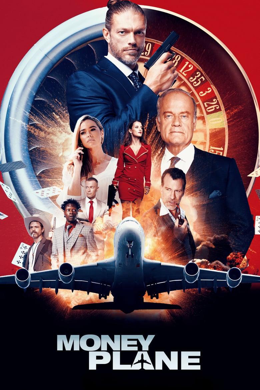 """Plakat von """"Money Plane"""""""