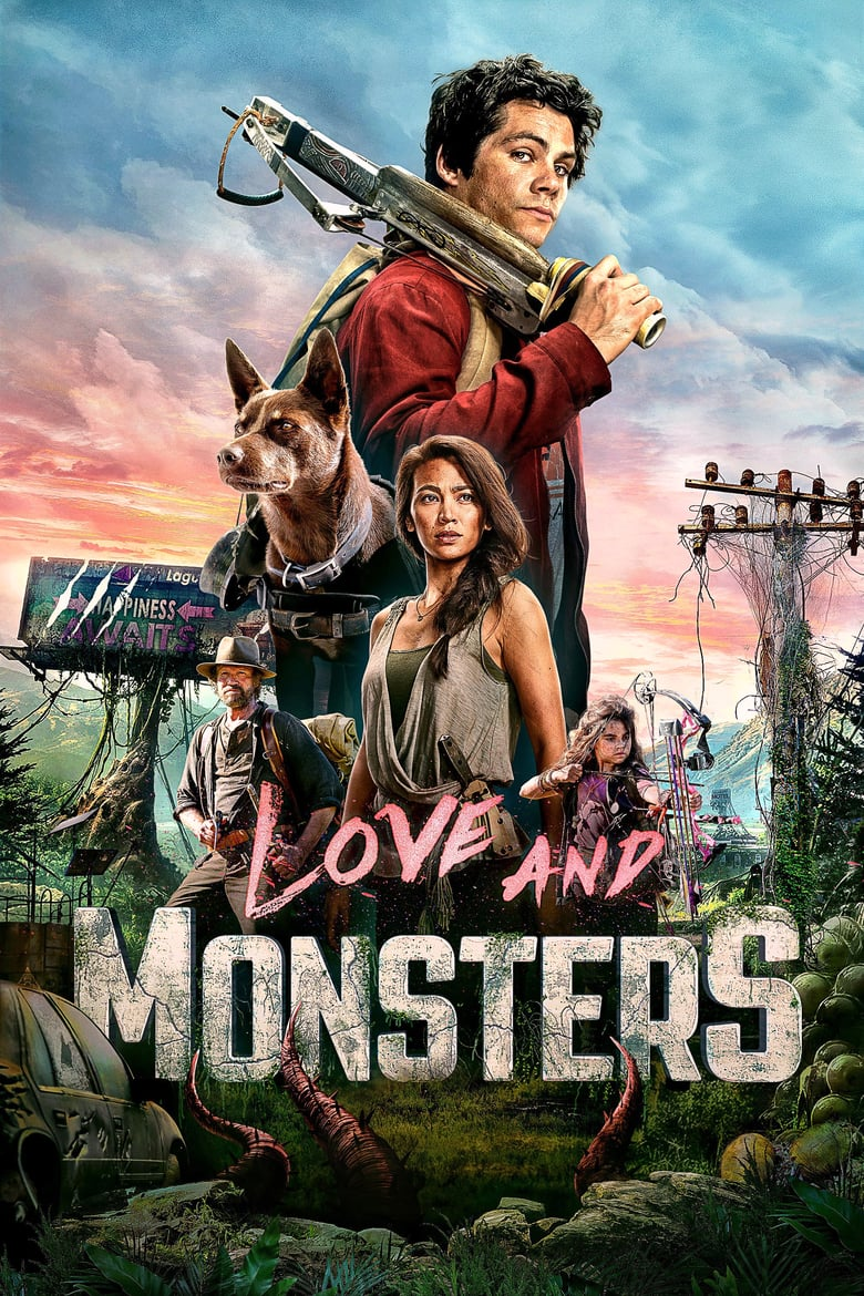 "Plakat von ""Love and Monsters"""